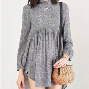 Urban outfitters black dot blouse